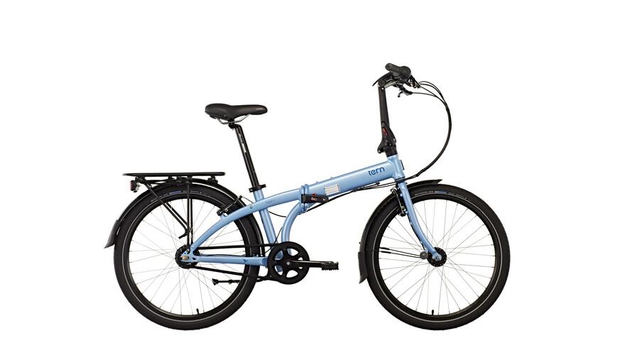 "tern Node D7i Foldecykel 24"" blå"